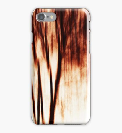 shadows of trees I iPhone Case/Skin