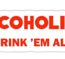 Alcoholica Sticker
