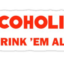Alcoholica Sticker