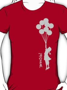 Banksy - Little girl with balloons T-Shirt