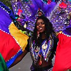 Colours of the World - Nottinghill Carnival by Victoria limerick