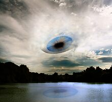 The Eye In The Sky That Watches Over You! by barnsis