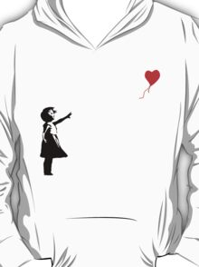 Banksy - Little girl with red balloon T-Shirt