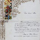 New Year's letter from 1907 by Gilberte