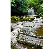 Walden Beck and Falls Photographic Print