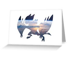 Noivern used fly Greeting Card