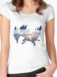 Noivern used fly Women's Fitted Scoop T-Shirt