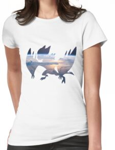 Noivern used fly Womens Fitted T-Shirt