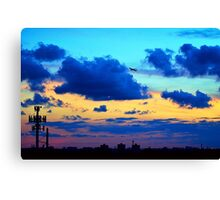Miami Sunsets Canvas Print