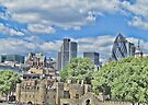 Tower of London (Old & New) by Audrey Clarke