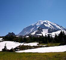 Mt. Rainier by YogiColleen