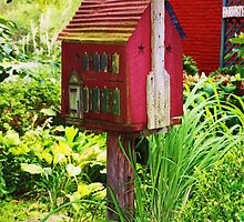 BIRD HOUSE? by Pauline Evans
