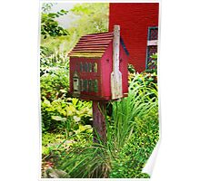 BIRD HOUSE? Poster