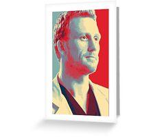 "Grey's anatomy - ""I said i love you so much it hurts. I said it hurts to love you"" - Owen Hunt Greeting Card"