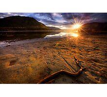 Sunset Compass Photographic Print