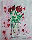 BOUQUET HEARTS AND ROSES  by eoconnor