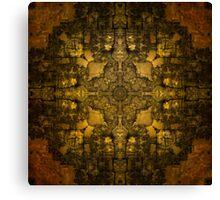 Gold Armour Canvas Print