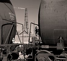 Pemian Basin Oil by Jeff Chavez
