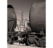 Pemian Basin Oil Photographic Print