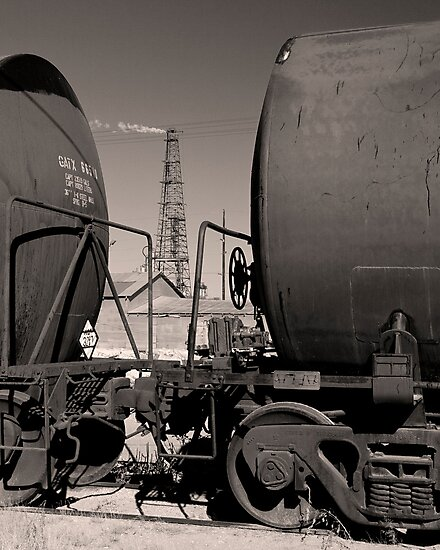 Pemian Basin Oil by Jeff Chavez