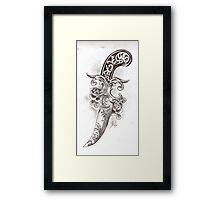 Victorian Dagger Framed Print