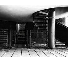Roof Terrace, Royal Museum Edinburgh Scotland Photographic Print