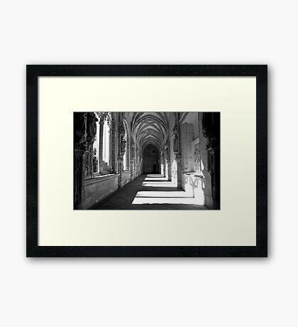 Time Tunnel Framed Print