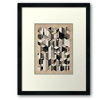 Skyscrapercity Framed Print