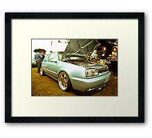 MK3 Golf VR6 - The Cover Star Framed Print