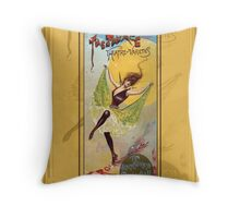 The Palace Theatre of Varieties Throw Pillow