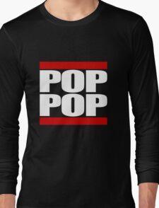POP POP - Magnitude 'Community' (RUN DMC Parody) Long Sleeve T-Shirt