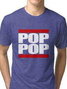 POP POP - Magnitude 'Community' (RUN DMC Parody) Tri-blend T-Shirt