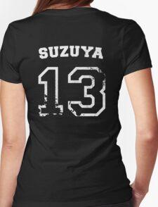 Juuzou Suzuya Collegiate Splatter Womens Fitted T-Shirt