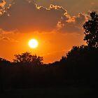Sunset in PA. by Jennifer P. Zduniak