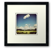 Old Country Farm  Framed Print