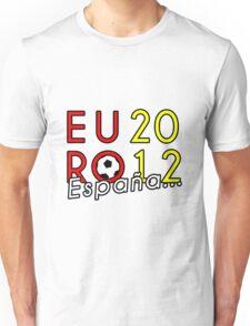 España Euro 2012 Champions! 3 Unisex T-Shirt