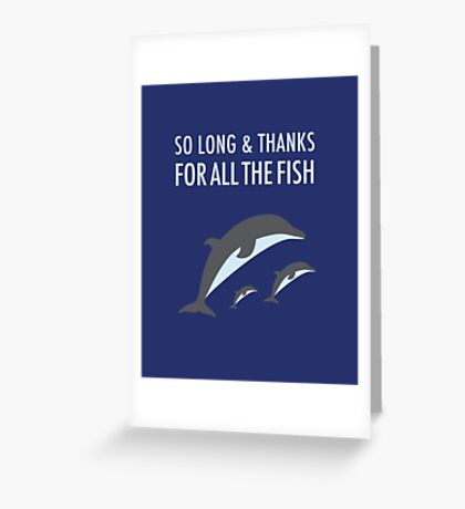 Hitchhikers Guide to the Galaxy Greeting Card