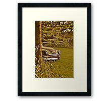 Hide and go seek Chief Framed Print