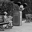 Mickey is watching you by Patrick Monnier