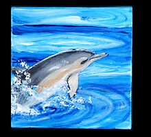 Vaulting Dolphin by edenmiller