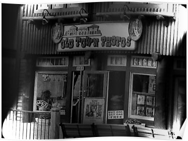 Gatlinburg, Tennessee Series, #5... The Old Timey Photo Shop, 5th Picture by © Bob Hall