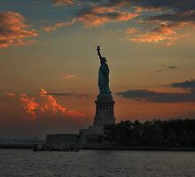 Lady Liberty at twilight New York by Eros Fiacconi (Sooboy)
