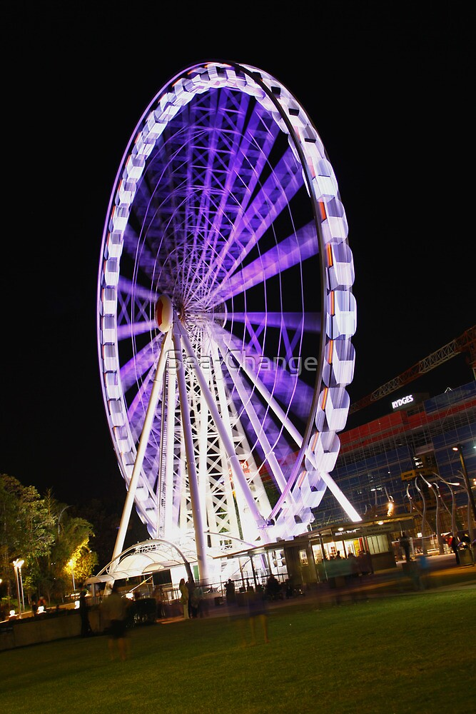 Purple Wheel at Southbank by Sea-Change