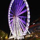 Purple Wheel at Southbank by Sea-Change