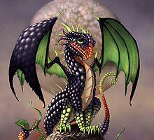 BLACKBERRY DRAGON by SMorrisonArt