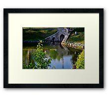 Garden Pond Framed Print