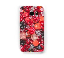 All the red dice Samsung Galaxy Case/Skin