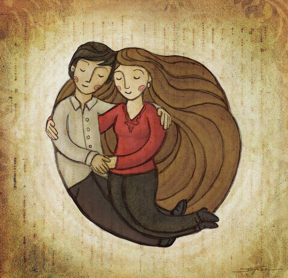 Loving Embrace by Ine Spee
