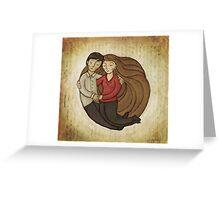 Loving Embrace Greeting Card