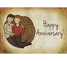 Happy Anniversary Card Photographic Print
